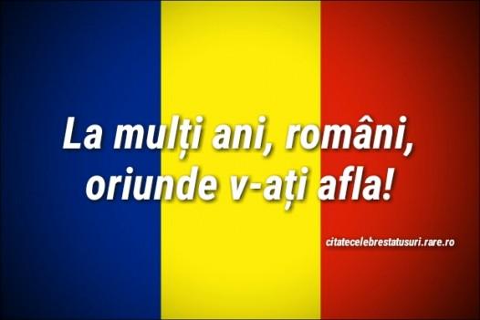 Status de 1 decembrie, ziua Romaniei.